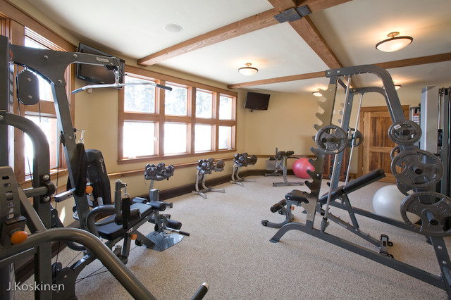 Aspen Glow - traditional - home gym - other metro - by Sefra ...