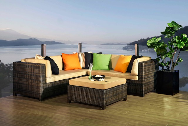 Pavillion Collection modern-outdoor-sofas