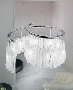 Dragon Spiralo chandelier small modern-chandeliers