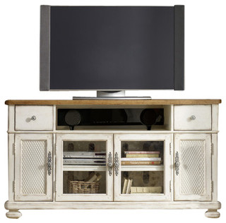 Entertainment Console - Farmhouse - Entertainment Centers And Tv Stands - by Benjamin Rugs and ...