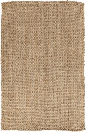 Surya Jute Woven 9' x 13' Natural Fibers Rug, Tan (JS2-913) contemporary-rugs