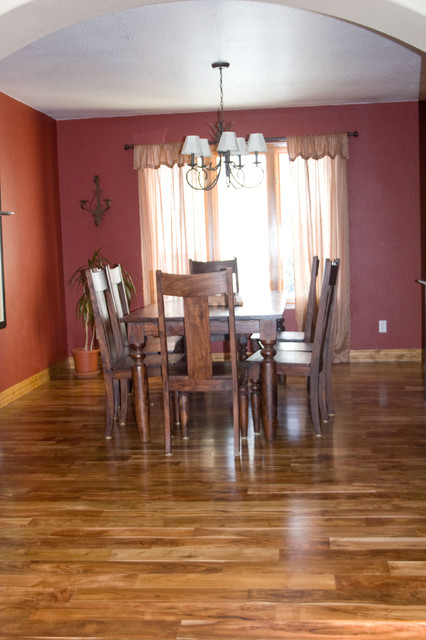 Asian Walnut Modern Hardwood Flooring Denver By