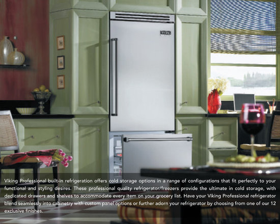 NEW Viking Professional Built-In Refrigeration -