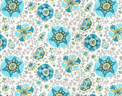 Silsila Outdoor Fabric, Poolside eclectic fabric