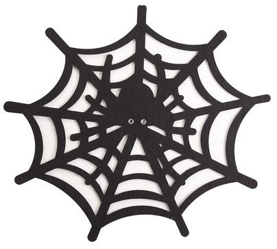 Spider Web Placemat contemporary holiday decorations