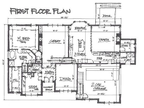 Vaulted v two story great room for 2 story great room floor plans