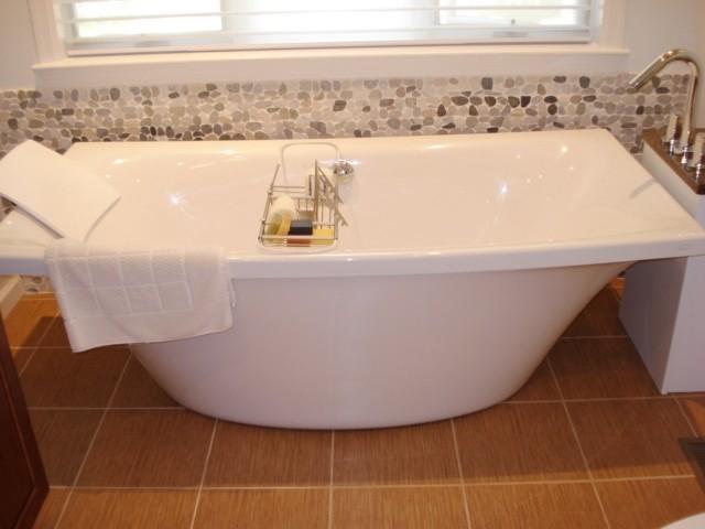 Master Bathroom Free Standing Tub contemporary-bathroom