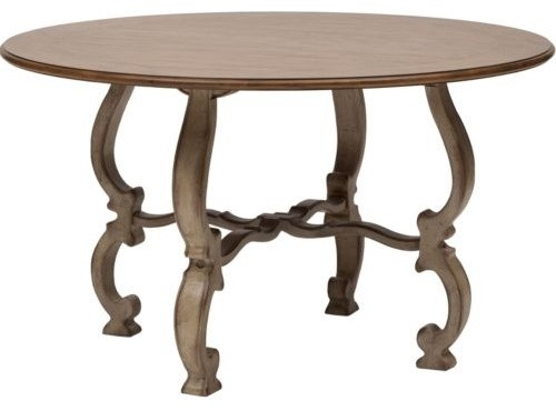 Sanctuary 52 round dining table dining tables by high for Round table 52 nordenham