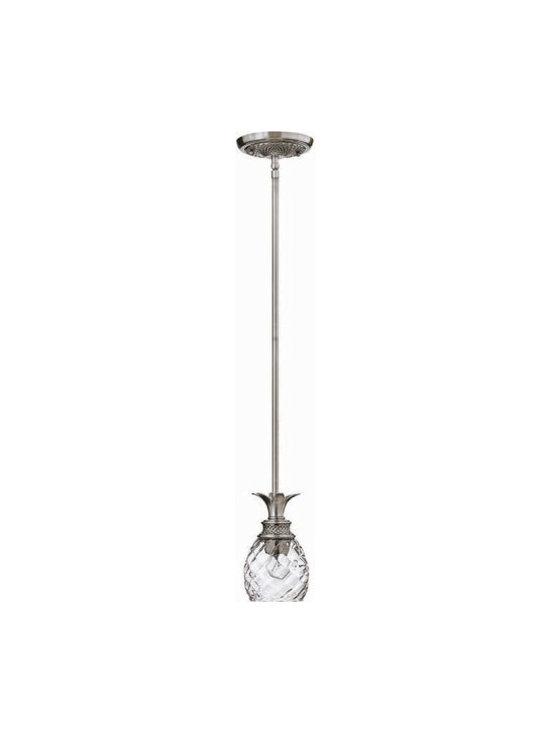 Hinkley Lighting 5317PL Mini-Pendant Plantation Collection -