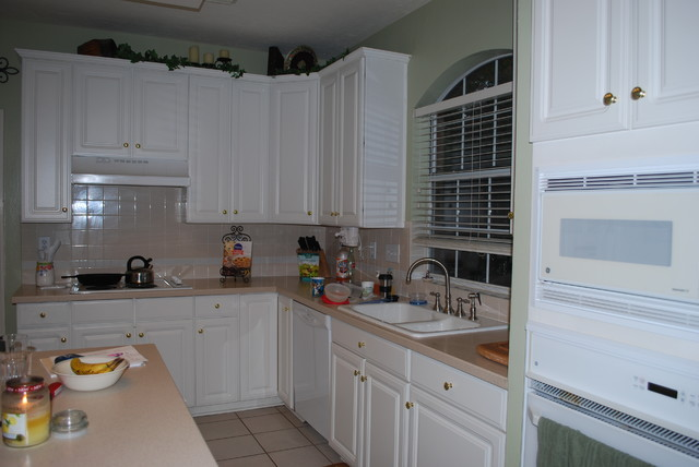 Kitchen remodel before traditional