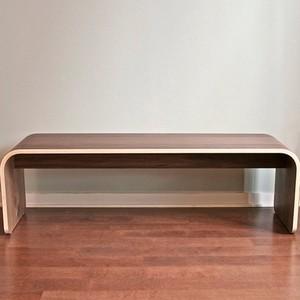 Botanist Minimal Bench, All-wood modern-benches
