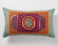 Gather & Glean Pillow, Rectangle eclectic-decorative-pillows