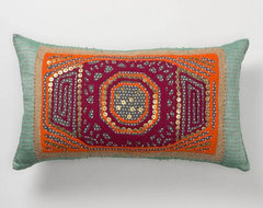Gather & Glean Pillow, Rectangle eclectic-pillows