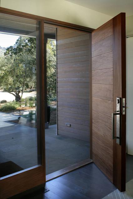 Calistoga Home Contemporary Front Doors San Francisco By Earthtone Construction
