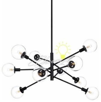 Orb 10-Light Pendant Light modern