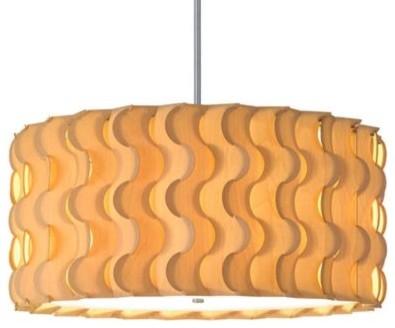 Pucci Drum Pendant by Dform pendant-lighting