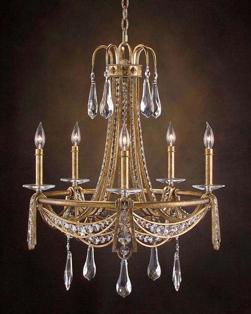 john richard 5 light chandelier ajc 8674 modern. Black Bedroom Furniture Sets. Home Design Ideas