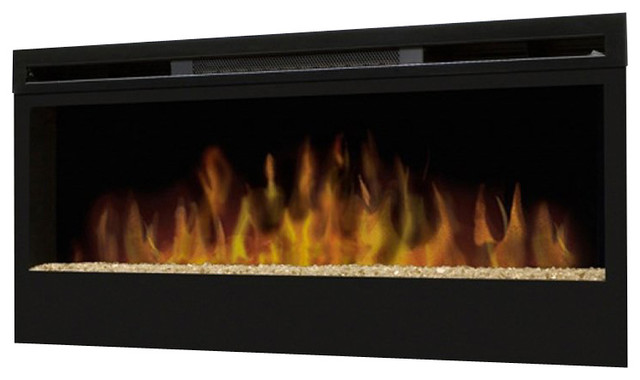 Dimplex Synergy Wall-mount in Black transitional-indoor-fireplaces