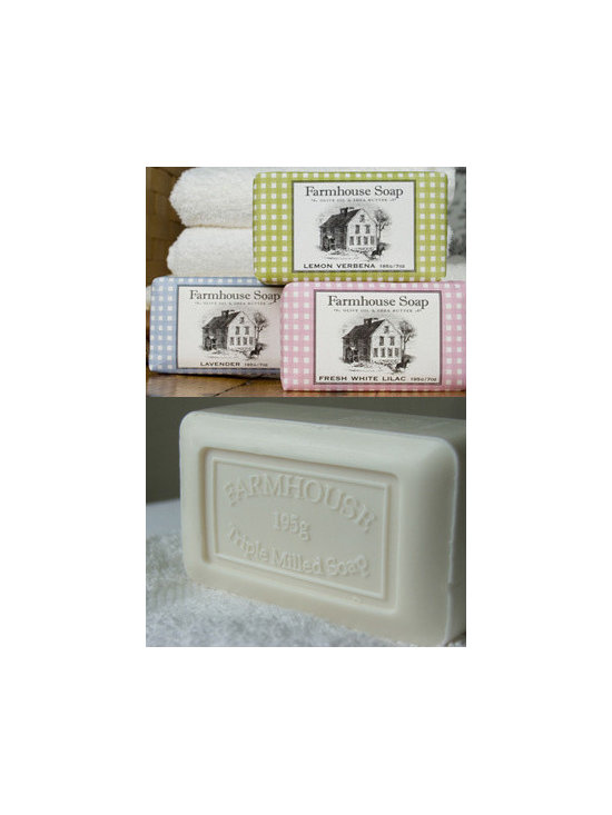 Farmhouse Milled Soaps by Sweet Grass Farm -