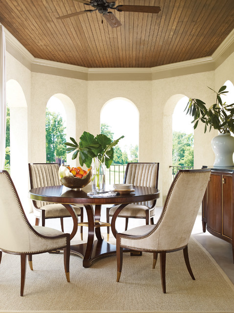Compositions By Schnadig At Castle Furniture Transitional Dining Tables Houston By