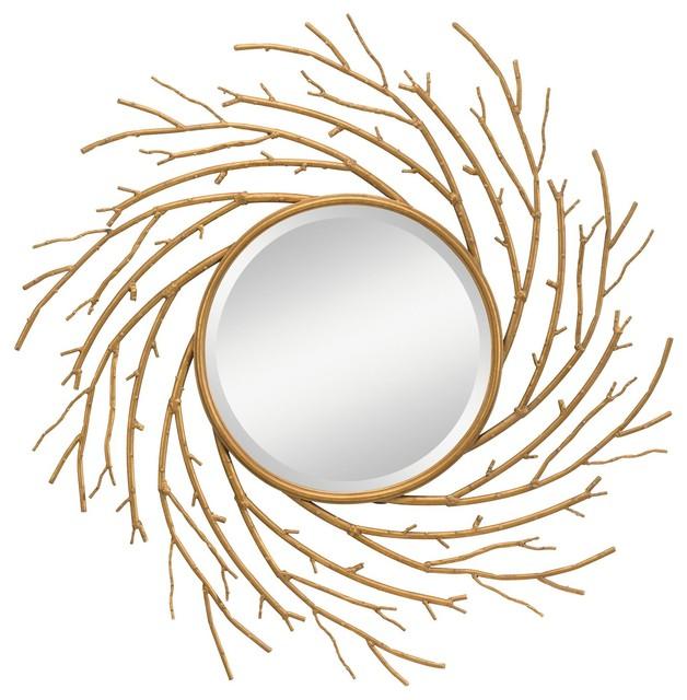Kichler Lighting Kayla Modern / Contemporary Round Mirror X-41287 contemporary-mirrors