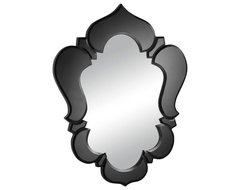 Zuo Vishnu Mirror in Black modern mirrors