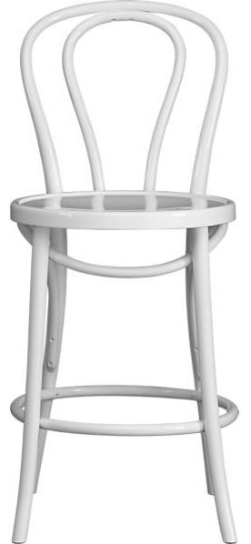 Vienna White Counter Stool bar-stools-and-counter-stools