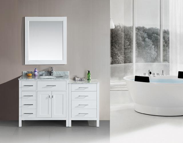 Modular bathroom vanities contemporary bathroom - Manufactured home bathroom vanity ...