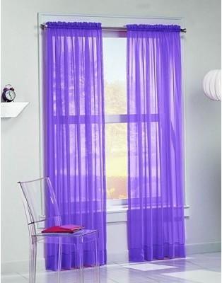Lichtenberg Calypso Brite Voile Curtain Panel - modern - curtains ...