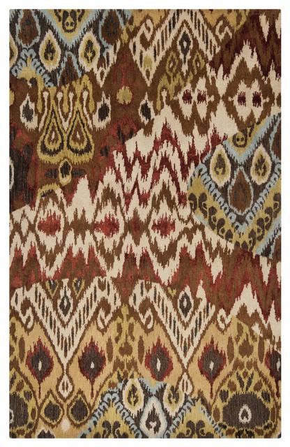 Surya Banshee BAN-3333 8' x 11' Adobe, Gold Rug contemporary-rugs