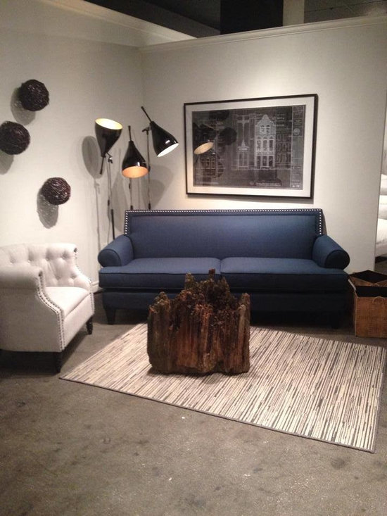 Toronto Showroom 2014 - Our Pierre Sofa & Pippa Chair make for a great looking combination.