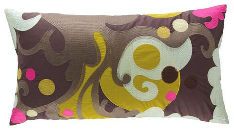 Earth Cotton Pillow modern-decorative-pillows