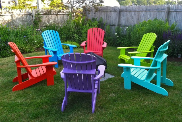 Adirondack Chairs In Full Color