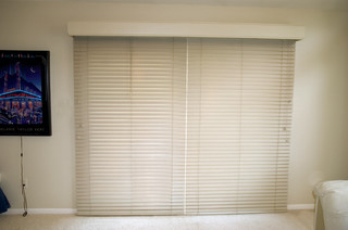 Glider Blinds Track System for Horizontal Blinds - Window Treatments - grand rapids - by Waters ...