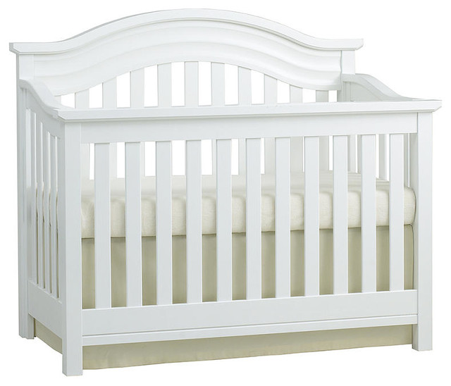 Baby Cache Riverside Lifetime Convertible Crib White Transitional Cribs By Toys