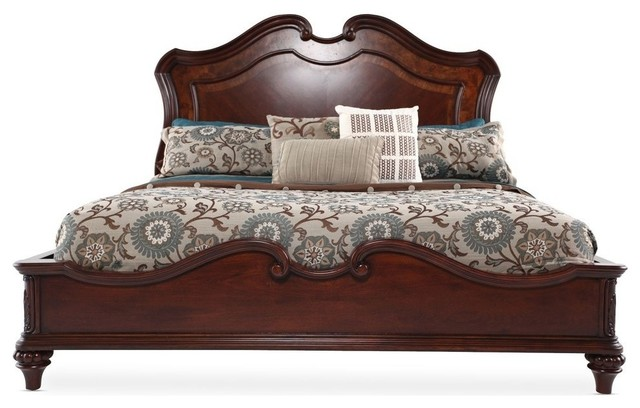 Fairmont Designs Marisol King Panel Bed in Brighton Cherry traditional-furniture