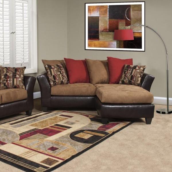 Chelsea Home Furniture Advantage Trapper Brown Sofa with