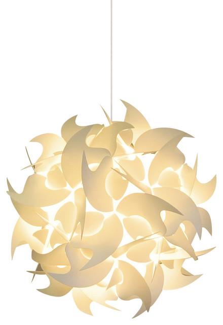 "Small Hooks Hanging Pendant Lamp  11"" contemporary-pendant-lighting"