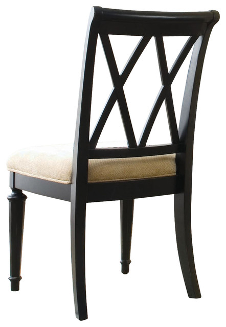 American Drew Camden-Dark Splat Side Chair (2-Pack) contemporary-dining-chairs
