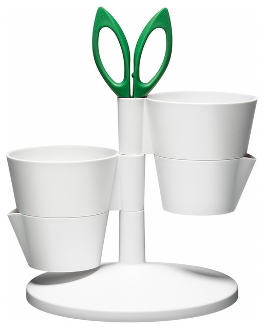 Normann Copenhagen Herb Stand contemporary indoor pots and planters