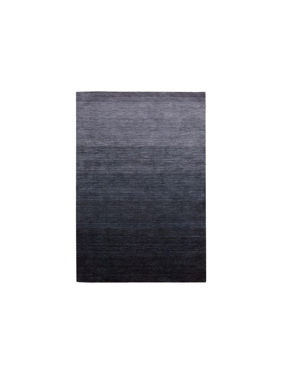"Calvin Klein - Calvin Klein ""Haze"" Rug - Mysterious and mystical, this handmade rug uses hand-dyed yarns to create a dramatic ombre effect. The color palette of subtle to intense hues makes highlighting any room deceptively simple. Hand loomed of wool. Cotton backing applied with latex. Ava..."