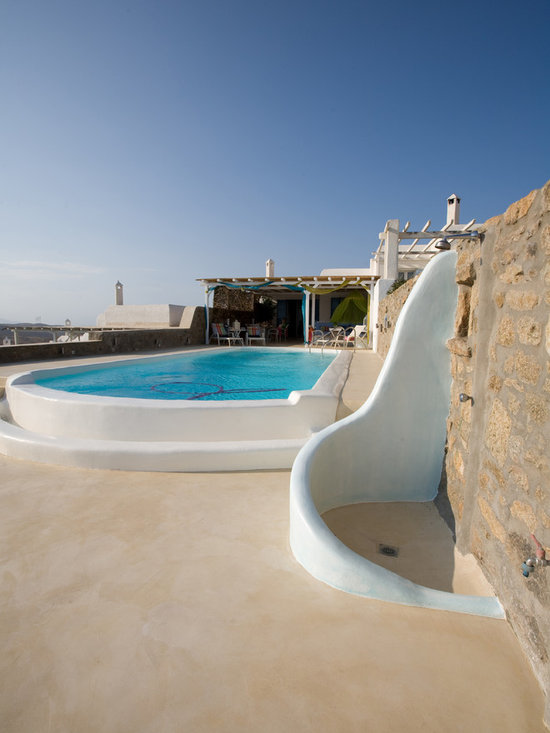 Photos from houses and residences in the Mediterranean Sea -