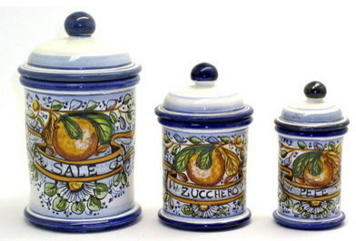 aranci three pieces canister set sale zucchero pepe 4 piece kitchen canister sets home design ideas