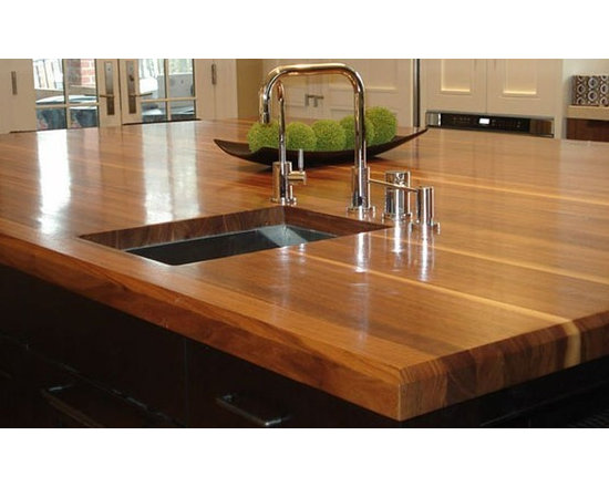 Walnut Countertop with Sink - Walnut Countertop with Sink