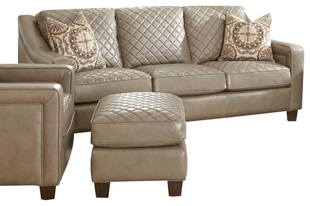 Steve Silver Wellington Sofa W 2 Accent Pillows In Akron