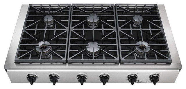 "Dacor Discovery 48"" Gas Rangetop, Stainless Steel Natural Gas 