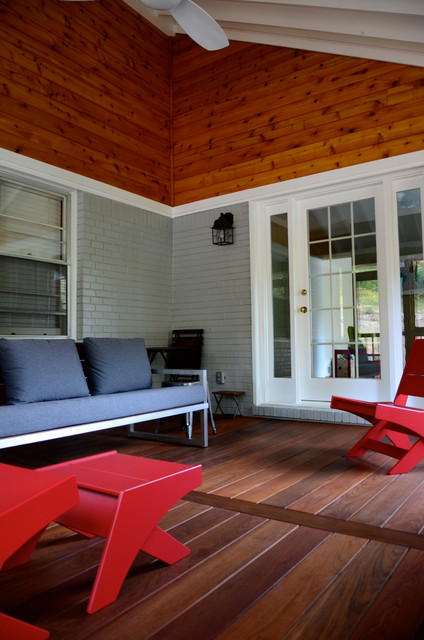 Modern Decatur Screened Porch modern