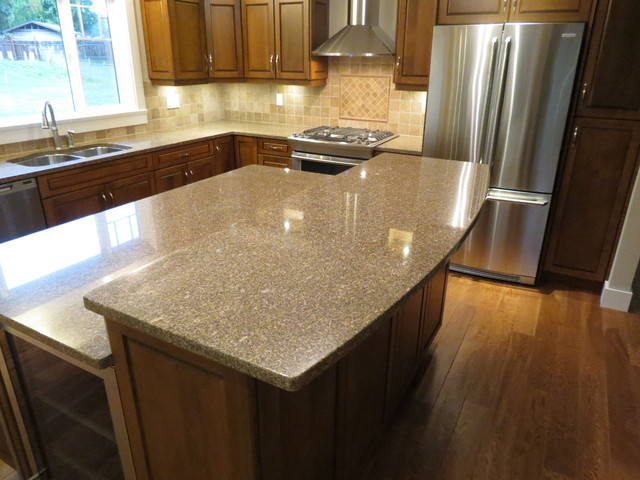 Quartz Kitchen Countertop : Granite & Quartz Countertops - Kitchen Countertops - other metro - by ...