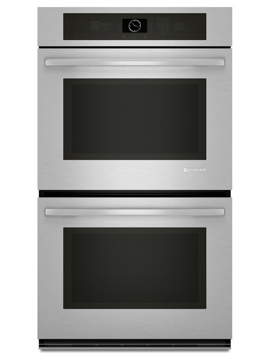 "Jenn-Air 30"" Double Electric Wall Oven, Stainless/blk 