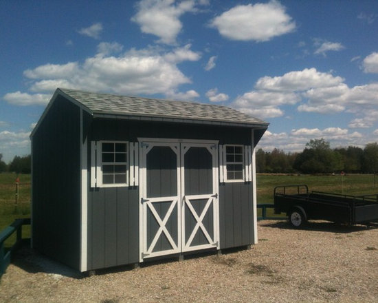 Garden Sheds - 8' X 12' Quaker Garden Shed by North Country Sheds